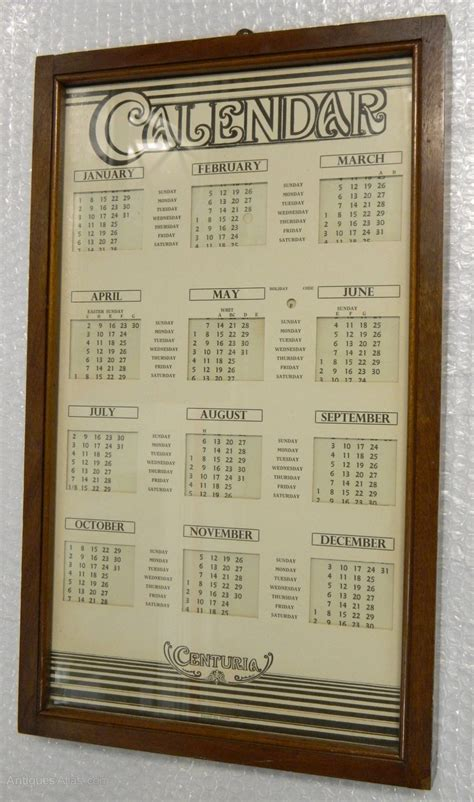 Perpetual Calendar Antiques Atlas Perpetual Calendar