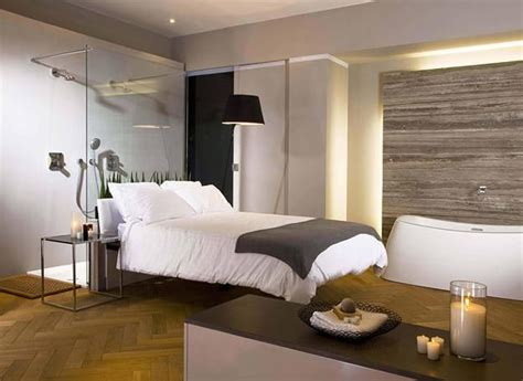 how to partition a bedroom 30 all in one bedroom and bathroom design ideas for space