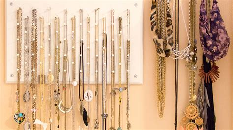 diy the most coolest hanger ideas for your jewelry storage