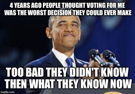 2nd term obama meme imgflip