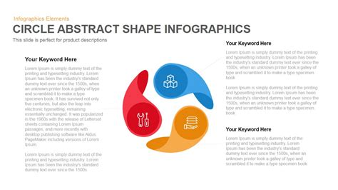 Circle Abstract Shape Infographics Powerpoint Keynote Template Slidebazaar Circle Infographic Template