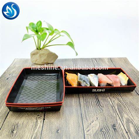 Tray Sushi Import Hp 02 disposable paper tray and lid paper sushi tray view sushi tray meshine product details from