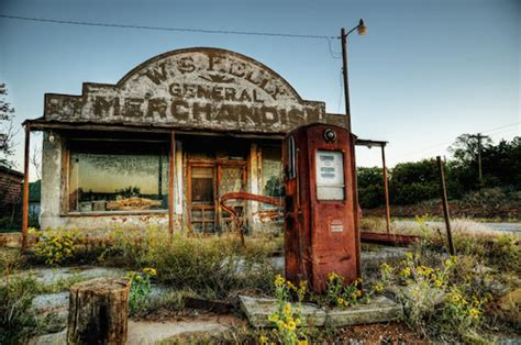 creepy abandoned service stations   country