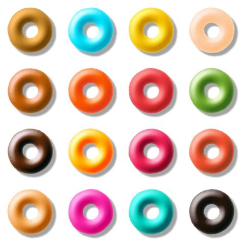 pictures of how to pack doughnut with big braids clipart donut pack 3