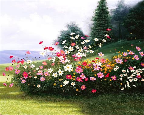 imagenes de paisajes florales pintura moderna y fotograf 237 a art 237 stica paisajes