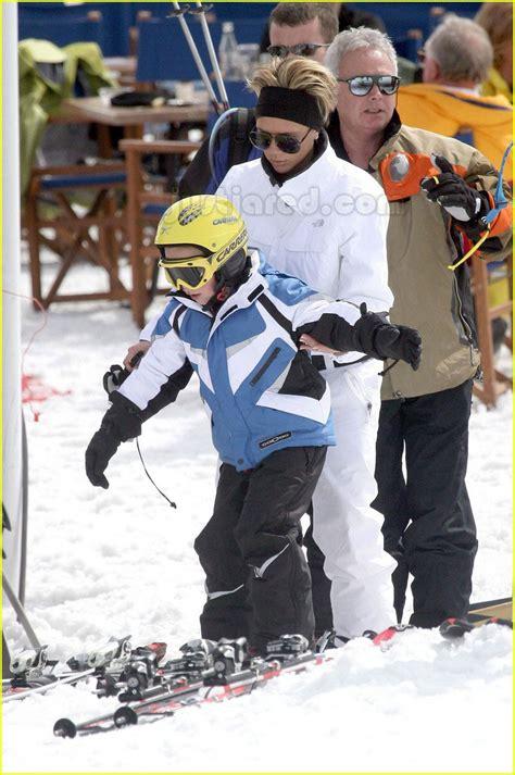 Posh Hits The Slopes by Sized Photo Of Beckham Skiing 10 Photo