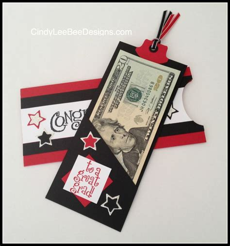 how to make a money card holder an oldie but goodie from stin up 2001 graduation