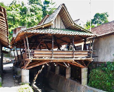 design community indonesia beautiful black bamboo community center in indonesia built