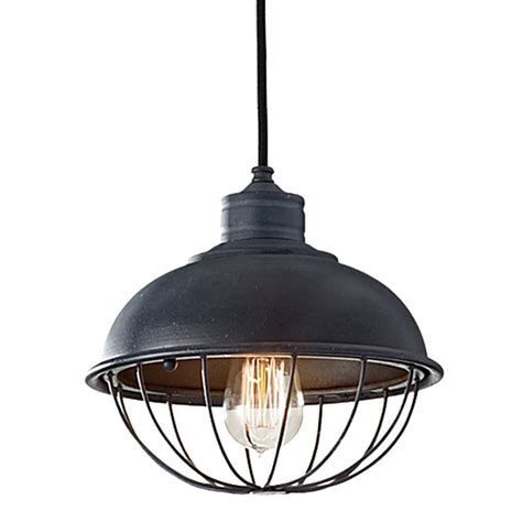 barn light with cage rounded iron cage bowl pendant barn light electric