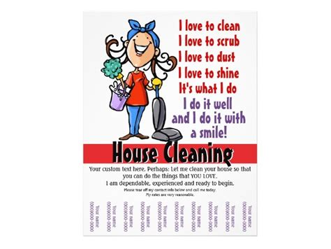house cleaning company sle business flyers joy studio design gallery best design