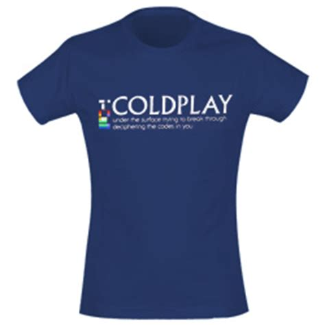 coldplay t shirt coldplay t shirts official merchandise 2016 2017