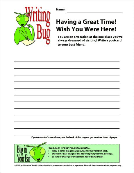 wish you were here postcard template image collections