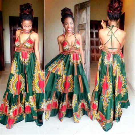 House Design Styles List by African American Dashiki Maxi Dress Designs 2017