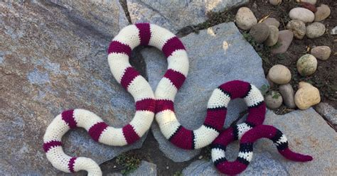 pattern uk slang suvi s crochet red tailed boa constrictor