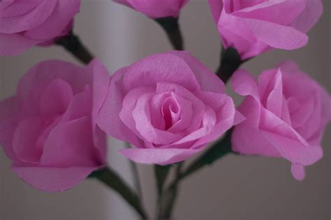How To Make Flowers Out Of Crepe Paper - make your own beautiful crepe paper flowers