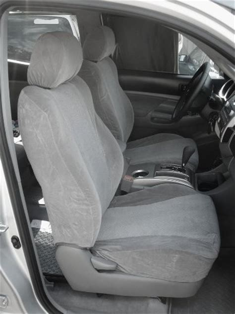 Seat Covers For 2005 Toyota Tacoma Review Exact Seat Covers Tc8 V7 2005 2008 Toyota Tacoma