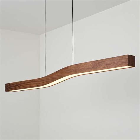 Linear Lighting Fixtures Camur Led Linear Pendant Light By Cerno Ylighting