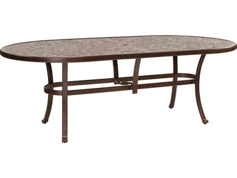 oval aluminum patio table oval cast aluminum patio table woodard orleans oval
