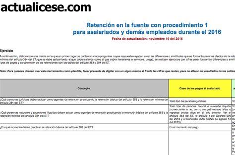 decreto 1070 de 2013 modelos y formatos actualicesecom oro retenci 243 n en la fuente con procedimiento 1 para