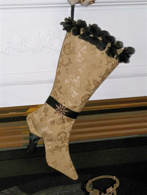 free pattern for victorian christmas stocking 17 best images about victorian boot xmas stocking