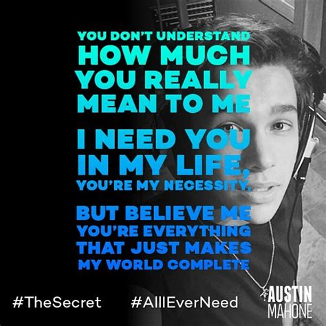 All I Need Mahone Mahone All I Need Coming Soon