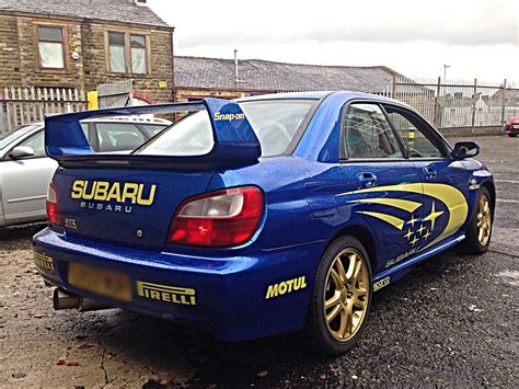 subaru impreza wrx sale used 2002 subaru impreza wrx for sale in lancashire