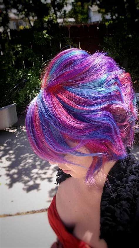 pravana vivids locked in hair locked in pravana vivids rainbowhair get your hair did
