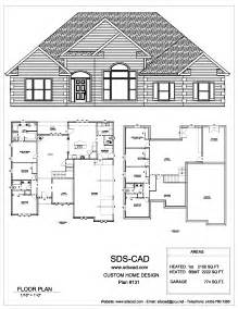 Home Blueprints by Sdscad House Plans 18 Sds Plans