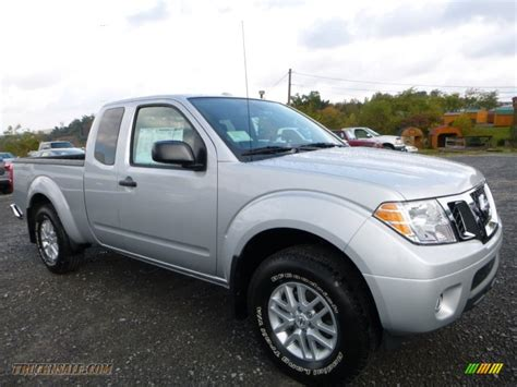 Nissan Frontier Sv by 2016 Nissan Frontier Sv King Cab 4x4 In Brilliant Silver