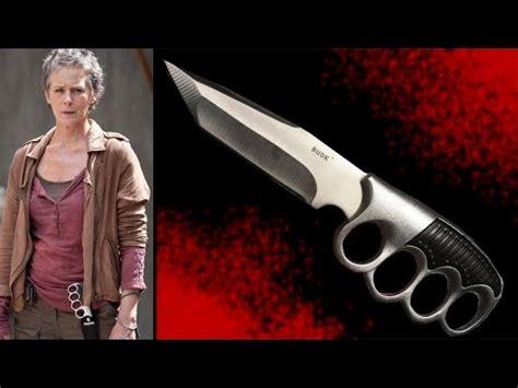 knives in the walking dead the walking dead carol s knife warrior tanto