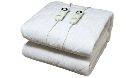 Electric Blankets Bed buy sunbeam sleep quilted electric blanket