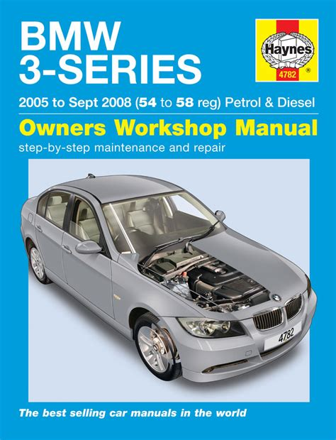 car engine repair manual 2008 bmw 3 series transmission control bmw 3 series petrol diesel 2005 2008 54 to 58