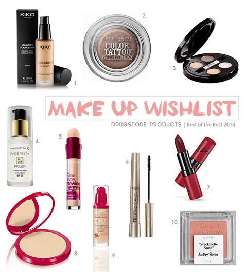 best drugstore styling cream 2014 quot best of 2014 quot make up wishlist drugstore products