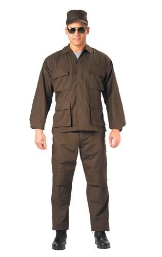 Swat S W A T Brown ultra brown swat cloth b d u