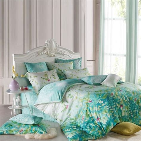 green toile bedding tiffany blue bedding sets blue and green tencel bedding
