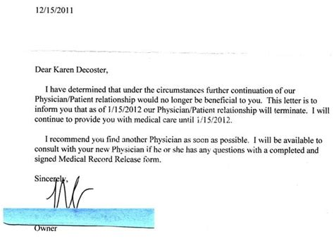 Patient Recall Letter For Chiropractic The Establishment Fired Me For Rejecting Conventional Wisdom