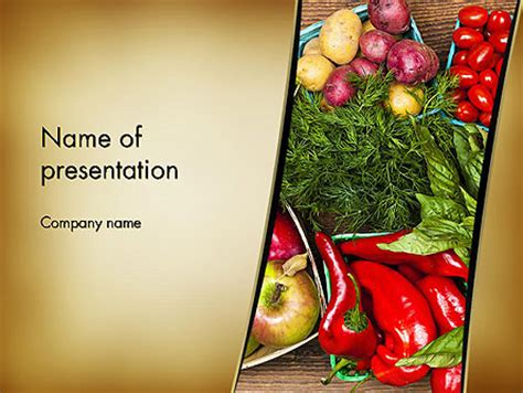Free Nutrition Powerpoint Templates Backgrounds Nutrition Powerpoint Template