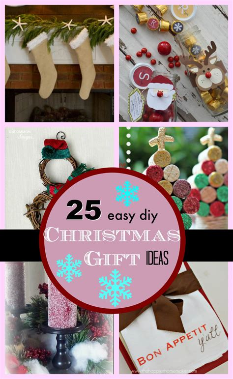 25 diy easy christmas gift ideas page 2 of 2 pinkwhen
