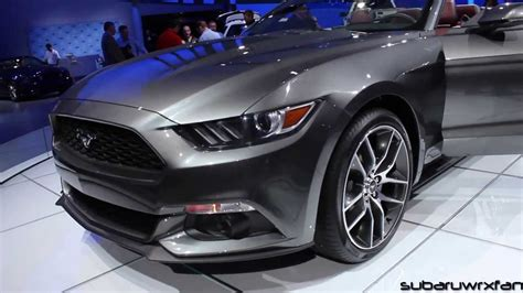 what color is magnetic 2015 mustang convertible design and discussion detroit