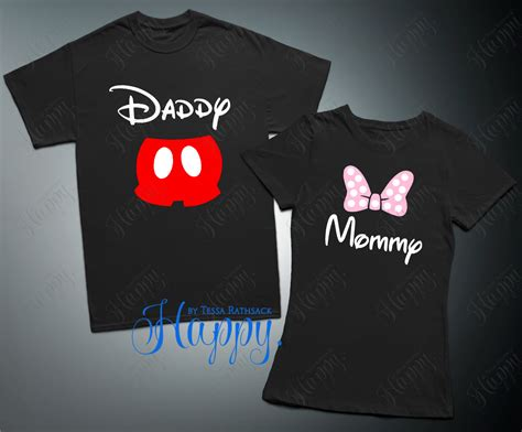 minnie mouse top mickey mouse t shirt family shirts by happytessa