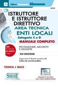 diritto amministrativo enti locali dispense istruttore e istruttore direttivo area tecnica la matricola