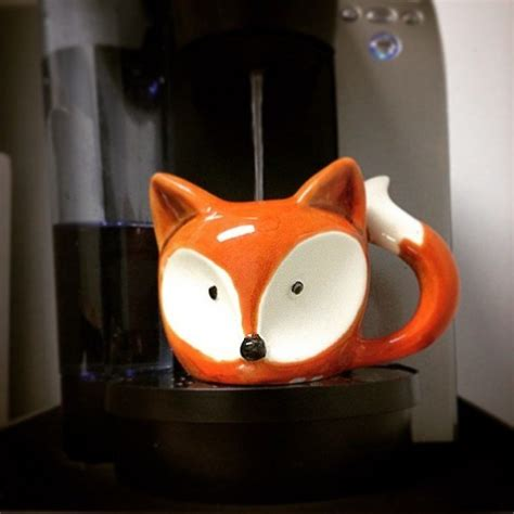 fox mug 50 cool and unique coffee mugs you can buy right now