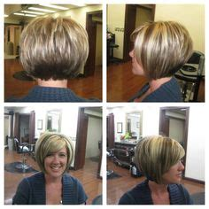 bobs with slight stack an always popular hair cut angled bob with slight
