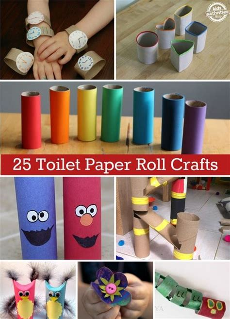 Recycle Toilet Paper Rolls Crafts - fantastic craft ideas using recycled toilet paper
