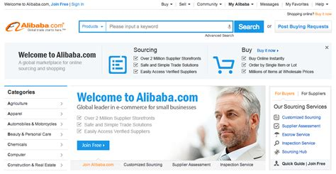 Alibaba Website | china s alibaba is getting a much needed overhaul of its