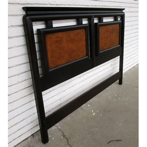 asian headboards metro retro furniture 80 quot vintage chin hua asian
