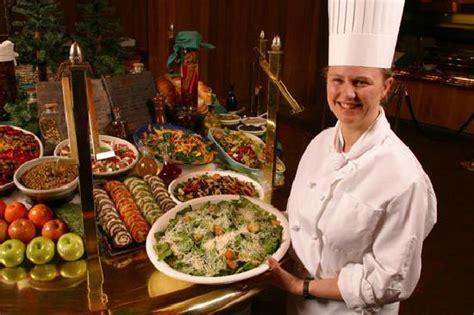 snow park restaurant s natural buffet at deer valley