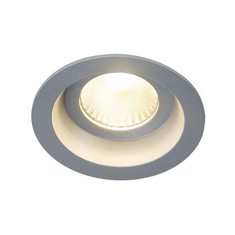 Lu Downlight 9 Watt boost ip44 9w downlight rotondo grigio argento led 9w