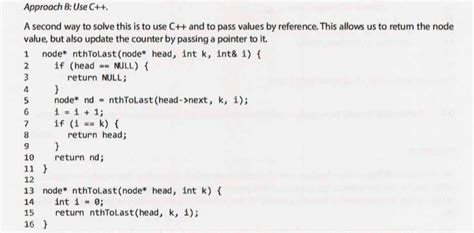 template linked list recursion pass by pointer objective c linked list