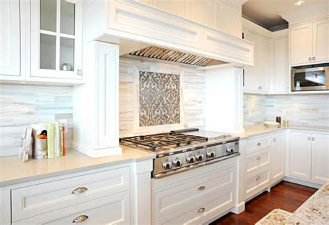 cloud white kitchen cabinets caesarstone cinder countertops contemporary kitchen